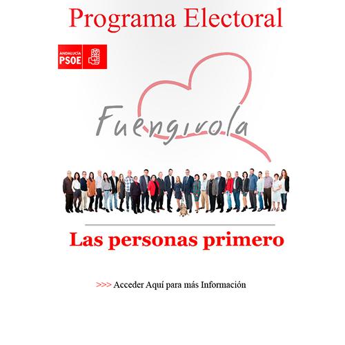 Programa Electoral 2015 Javier García León